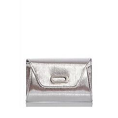 Quiz - Silver oval trim bag