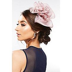 Quiz - Mauve Floral Jewel Headband Fascinator