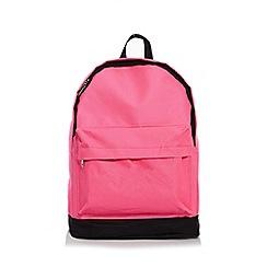 Quiz - Neon Pink Backpack
