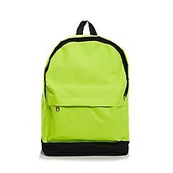 Quiz - Neon Green Backpack