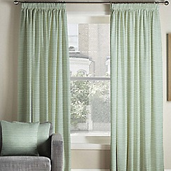 Montgomery - Bali duckegg lined pencil pleat heading curtains