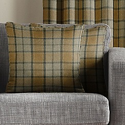 Montgomery - Mustard 'Brae' cushion cover