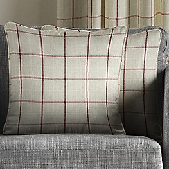 Montgomery - Red 'Burchill' cushion covers