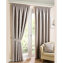 Joshua Thomas - Sone 'Elizabeth' fully lined pencil pleat curtains