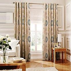 Whiteheads - Islay Denim Lined Eyelet Curtains