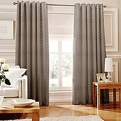 Whiteheads - Loretta Silver Lined Eyelet Curtains