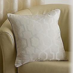 Joshua Thomas - Ivory 'Oregon' cushion cover