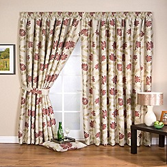Whiteheads - Petula Chintz Lined Pencil Pleat Curtains