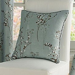 Montgomery - Duck egg 'Pollen' cushion cover