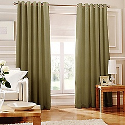 Whiteheads - Ripple Cactus Lined Eyelet Curtains