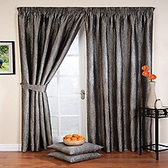 Whiteheads - Ripple Silver Lined Pencil Pleat Curtains