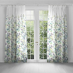 Voyage - Sola Opal lined pencil pleat heading curtains