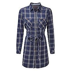 Tog 24 - Damson check annie shirt dress