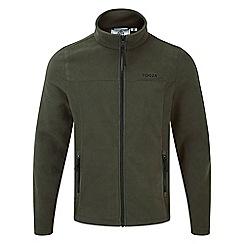 Tog 24 - Dark khaki appleby mens fleece jacket