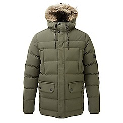 Tog 24 - Dark khaki arctic insulated parka jacket