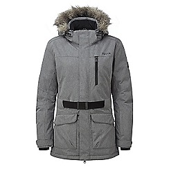Tog 24 - Grey marl aria womens waterproof insulated ski jacket