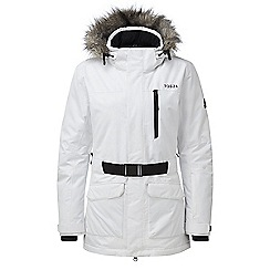 Tog 24 - White aria womens waterproof insulated ski jacket