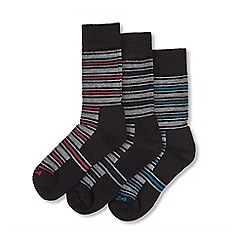 Tog 24 - Multicoloured 3 pack merino trek socks
