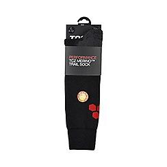 Tog 24 - Black auckland merino trek socks