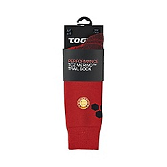 Tog 24 - Fire red auckland merino trek socks