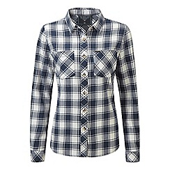 Tog 24 - Navy check bailey tcz cotton shirt