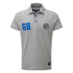 Tog 24 - Light grey marl beckett deluxe polo shirt