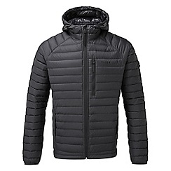 Tog 24 - Black beck hooded down jacket