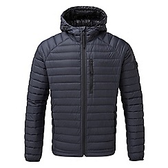 Tog 24 - Navy beck hooded down jacket
