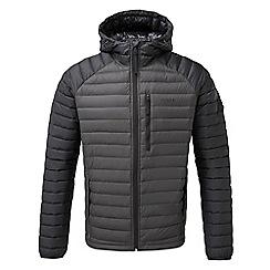 Tog 24 - Grey beck hooded down jacket