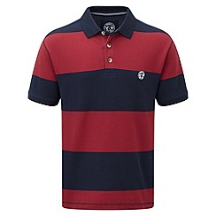 Tog 24 - Rio red bennett stripe polo shirt