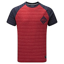 Tog 24 - Chilli and navy berrett deluxe t-shirt diamond