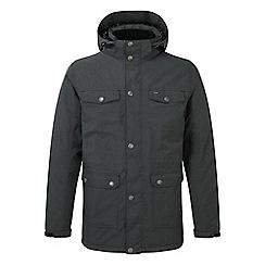 Tog 24 - Black marl Baxley milatex parka jacket