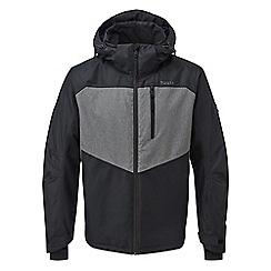 Tog 24 - Black and grey marl blade mens insulated ski jacket