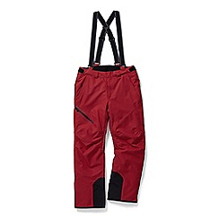 Tog 24 - Chilli red bolt waterproof insulated salopettes