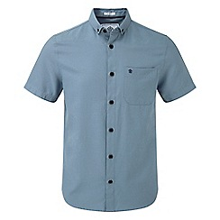 Tog 24 - Slate Botham short sleeve slim fit oxford shirt