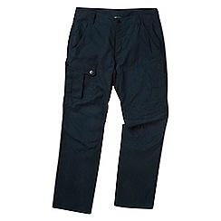 Tog 24 - Dark navy Bradshaw regular leg cargo trousers