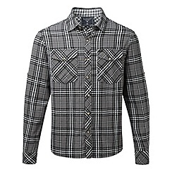 Tog 24 - Anthracite check buddy deluxe lined double weave shirt