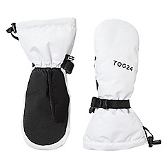 Tog 24 - White burley waterproof ski mitts