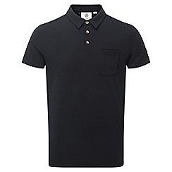 Tog 24 - Black buxton dri-release wool polo shirt