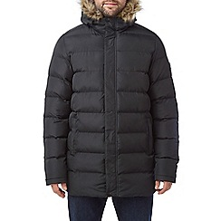 Tog 24 - Black caliber mens long insulated jacket