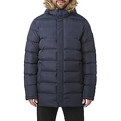 Tog 24 - Navy caliber mens long insulated jacket