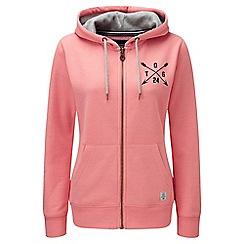 Tog 24 - Light salmon arrow cara deluxe zip hoodie