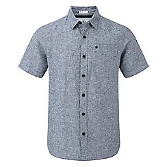 Tog 24 - Grey Clifton short sleeve linen shirt