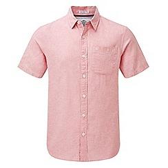 Tog 24 - Pink Clifton short sleeve linen shirt