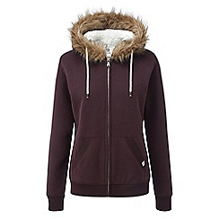 Tog 24 - Deep port marl clough womens sherpa lined hoody