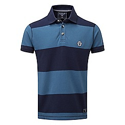 Tog 24 - Faded navy collins stripe polo shirt