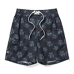 Tog 24 - Navy print cove swimshorts