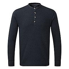 Tog 24 - Navy marl cowan deluxe long sleeve t-shirt