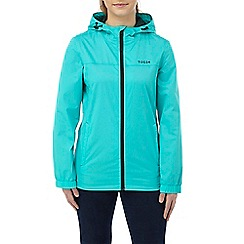 Tog 24 - Ceramic blue craven ladies waterproof pack away jacket