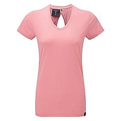 Tog 24 - Light salmon daisy dri-release wool t-shirt